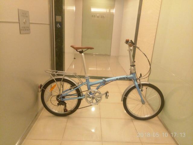 K-rock 20吋摺合单車 (Sold) laukh2(5/10 17:50) 二手 單車 車 運動