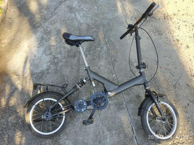 AEZDA 雅自達16吋避震折疊 單車  Sold! clai(5/23 10:09) 二手 單車 車 運動