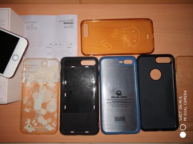 99%新 iPhone 8 Plus 64G 港行金色 連原裝盒及原裝配件 ninjapeter08(10/2 11:05) 二手 電話 相機 遊戲機