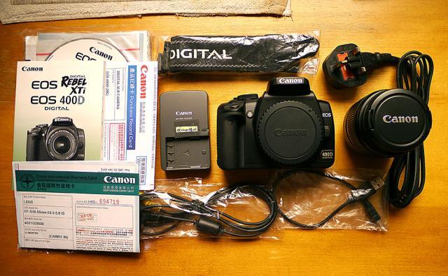 已售出。謝謝各位老友!正常系列---CANON數碼相機 EOS400D KIT oldpeter(9/8 16:16) 二手 電話 相機 遊戲機