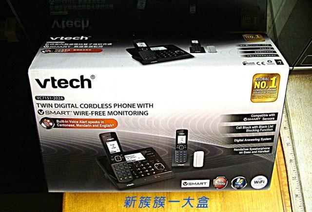 已售出。謝謝各位老友!vechVC7151-202A電話 oldpeter(9/13 15:50) 二手 電話 相機 遊戲機