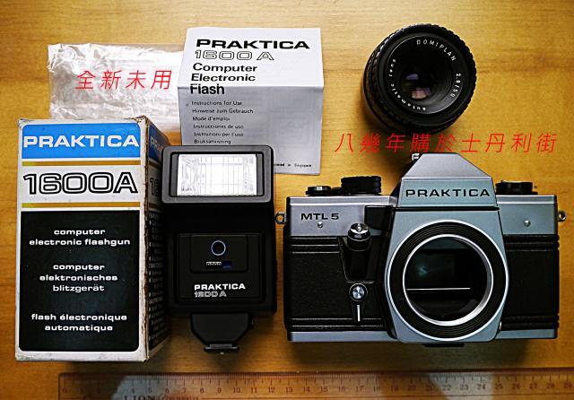 已閃電售出。謝謝!PRAKTICA MTL5 oldpeter(5/31 17:07) 二手 電話 相機 遊戲機