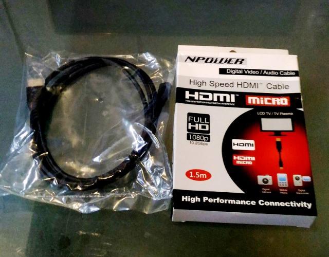 平售NPOWER High Speed HDMI Cable tom48(10/5 20:04) 二手 電腦 影音 免費