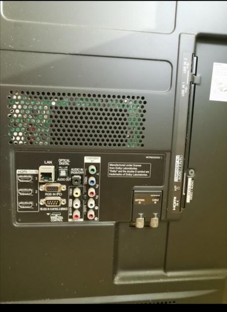 "LG 42"" LED TV $550 (喇叭無聲音) monococo(5/6 14:57) 二手 電器 TV  冷熱洗雪燈爐 送贈"