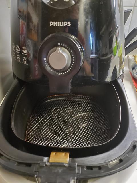 Philips Viva HD9220/28 Air Fryer 健康空氣炸鍋 karenlamhk(6/4 15:41) 二手 電器 TV  冷熱洗雪燈爐 送贈