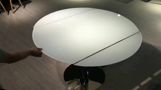 旋轉伸縮玻璃圓餐枱 abcde1127e(1/21 18:18) 二手 傢俬 送贈
