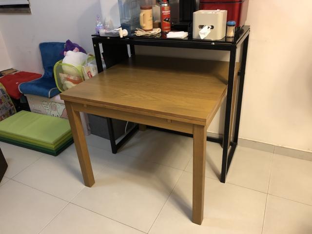 【以送出】 IKEA餐枱 + Pricerite 吧枱 ohnukil(12/20 01:12) 二手 傢俬 送贈