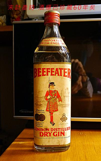 BEEFEATER LONDON DISTILLED DRY GIN oldpeter(4/7 15:17) 二手 雜項 收藏品 免費